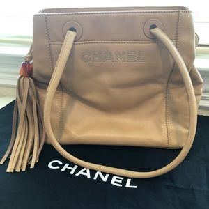 Authentic Chanel lambskin leather bag 🎀